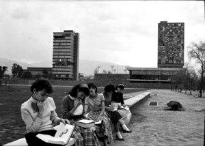 Ciudad Universitaria, poco después de su inauguración (Cortesia, Patrimonio UNAM)