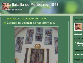 """Blog """"La Batalla de Monterrey, 1846"""""""
