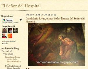 """Portada del blog ·""""El Señor del Hospital"""""""