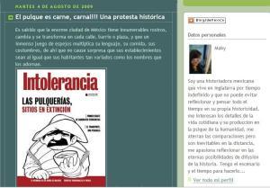 "Portada del blog ""Caleidoscopio histórico"""
