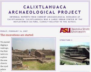 Calixtlahuaca Archaeological Project