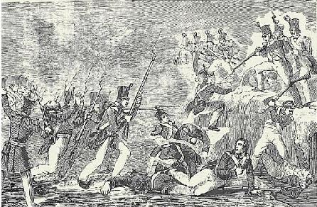 La batalla de Contreras, según Nathan C. Brooks