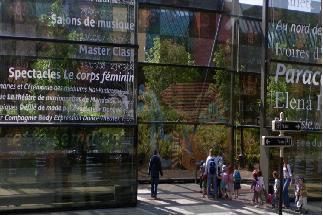 Entrada del museo del Quai Branly (en Google Street View)