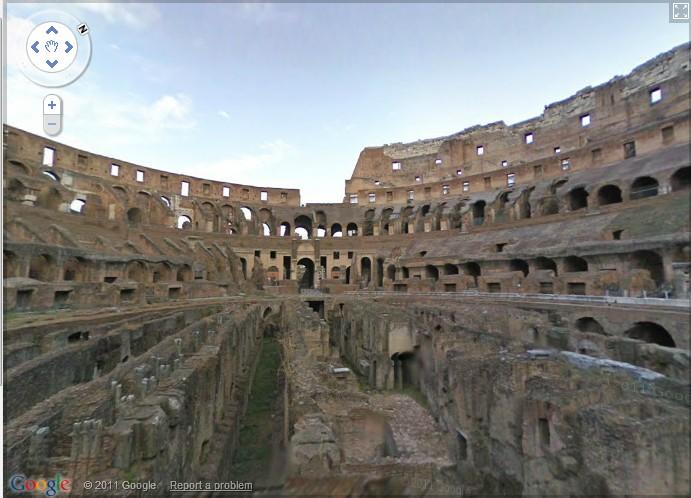 El Coliseo, en Google Street View