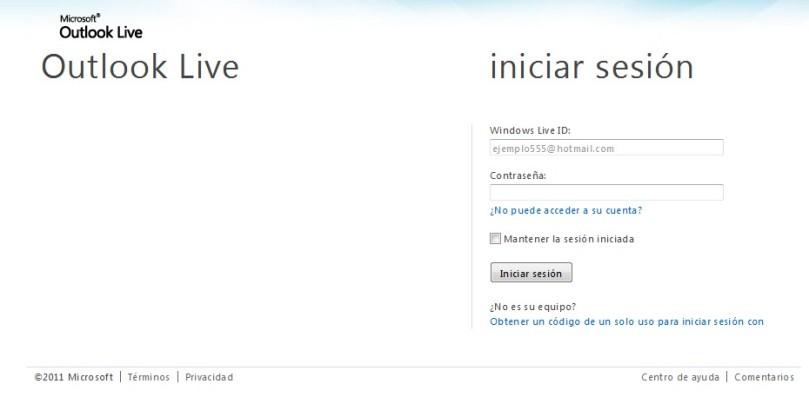 La nueva pantalla de ingreso a Correo UNAM
