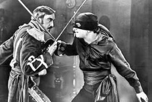 El Zorro, en versiòn de Douglas Fairbanks (1920)