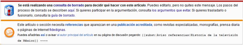 wikipedia borrado