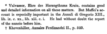 "Notas en Ranke, ""The ecclesiastical and political history of the popes of Rome…"", 1840"