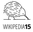 Quince años de Wikipedia. Fuente: Wikimedia
