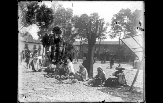 Pátzcuaro comerciantes indígenas